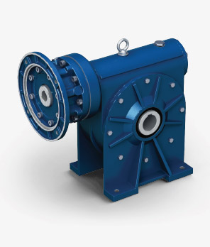 Helical worm gearboxes CR