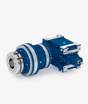 High torque bevel helical planetary gearboxes EXR