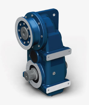Parallel and shaft mounting gearboxes with long center distance