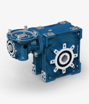 Double worm gearboxes RR