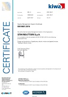ISO 9001:2008 Certificate of STM